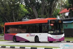 SBS Transit Scania K230UB (SBS8807M) - Service 155