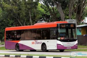 SBS Transit Scania K230UB (SBS8818G) - Service 155