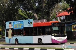 SBS Transit Scania K230UB Euro V (SBS8836D) - Service 31