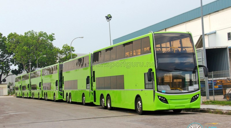 Alexander Dennis Enviro500 - Unregistered buses in storage