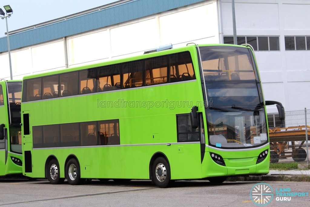 Alexander Dennis Enviro500 - Unregistered bus in storage