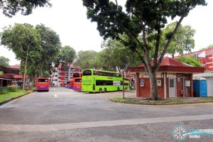Changi Village Bus Terminal - Bus Park