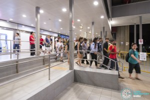 EWL Lakeside – Joo Koon Early Closure: Commuters directed to rail replacement buses