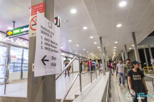 EWL Lakeside – Joo Koon Early Closure: Rail replacement buses information