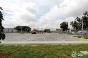 Hougang Bus Depot Expansion - Parking lots