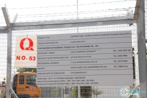 Hougang Bus Depot Expansion - Construction Details