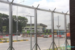 Hougang Bus Depot Expansion - View of Bus Assembly