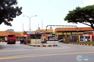 Hougang Bus Depot - Defu Avenue 1 (Main Entrance)