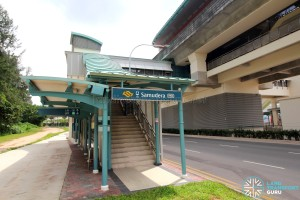 Punggol LRT - Samudera Station - Exit B