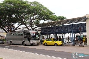 Bedok MRT Pickup Point for Parkway Parade Shuttle