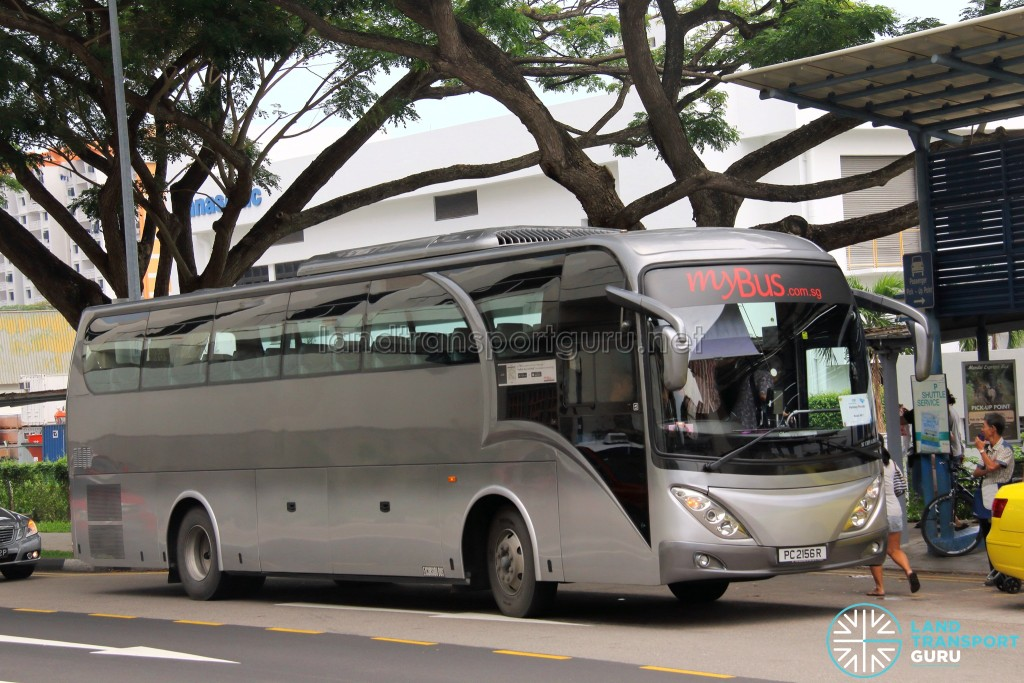 Parkway Parade Shuttle - Bedok Route - PC2156R