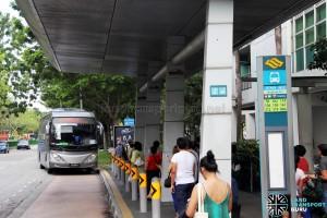 Sengkang MRT Pickup Point for Parkway Parade Shuttle