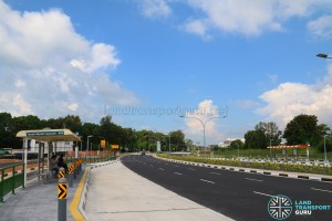 New pair of bus stops along Tanah Merah Coast Road for Service 35