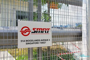 Woodlands Bus Park - Address