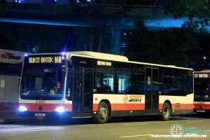 SMRT Mercedes-Benz O530 Citaro (SMB156U) - NightRider NR8