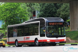 SMRT MAN NL323F (SMB3068X) - Service 904