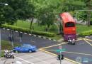 Bus Accident along Ang Mo Kio Avenue 3 on 28 May 2017