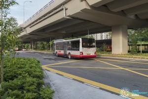 Service 973 outside Hillview MRT Station (Yellow Box)