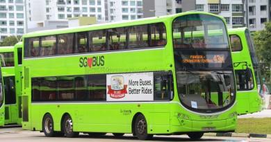 Go-Ahead Volvo B9TL Wright (SBS3438C) - Service 43M