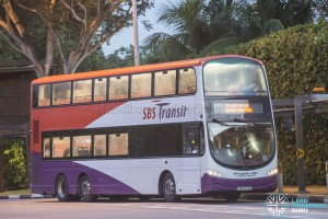 SBST Volvo B9TL Wright (SBS3770S) - DTL Shuttle Service towards Chinatown