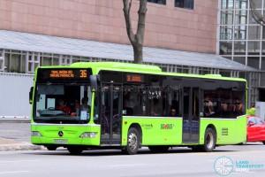 Go-Ahead Mercedes-Benz O530 Citaro (SBS6455H) - Service 36