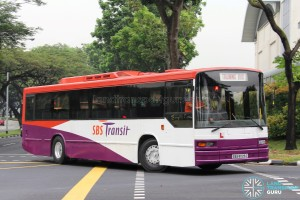 "SBST Volvo B10M MkIV ""Soon Chow"" (SBS8025C) - Training Bus"