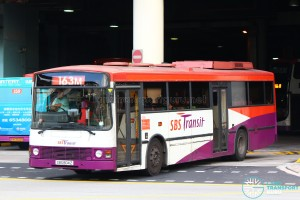 SBST Volvo B10M MkIII (SBS804Z) - Service 163M