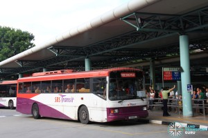 SBS Transit Volvo MkIV DM (SBS916J) - North East Line Bridging Bus