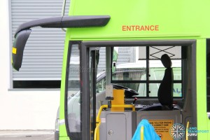 Alexander Dennis Enviro500 - Equipment fitting in progress