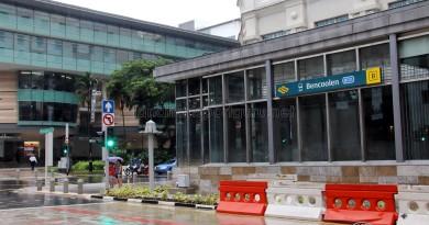 Bencoolen MRT Station - Exit B