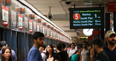 Travel Advisory for North South and East West Line Commuters