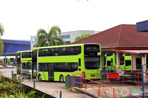 Gemilang Coachworks - Completed MAN A95 buses