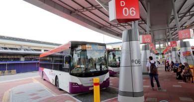 Larkin Bus Terminal - Service 170 berths