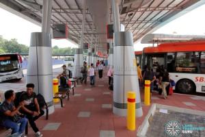 Larkin Bus Terminal - Passenger concourse