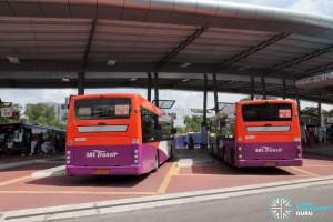 Larkin Bus Terminal - End-on berths
