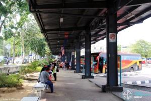 """Larkin Bus Terminal - """"C"""" berths on West side"""