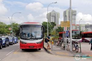 Queen Street Bus Terminal Alighting Berth
