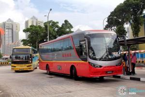 Queen Street Bus Terminal Boarding Berth