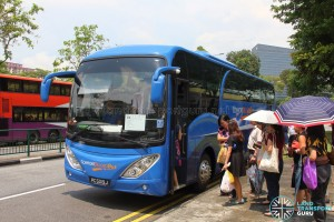 one North Rider - Ghim Moh Pickup Point during Lunch hours