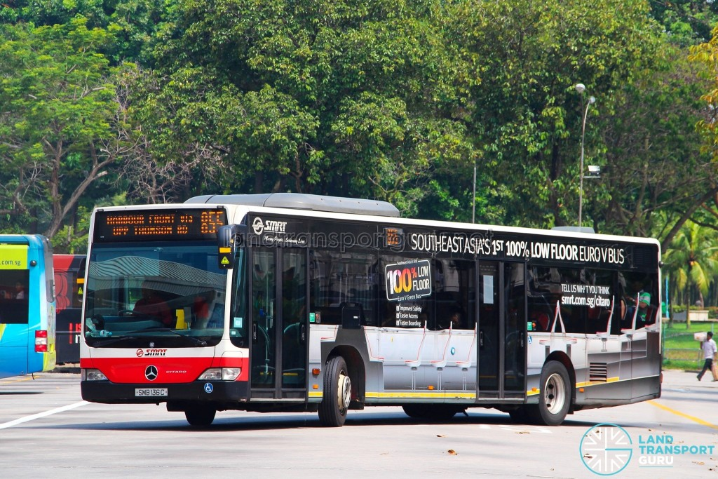 Smb136c the mercedes benz citaro demonstrator unit land for Mercedes benz downtown service