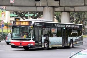 SMRT Mercedes-Benz Citaro (SMB136C) - Off Service