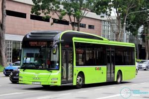 Tower Transit Service 77 - MAN A22 (SMB3057C)