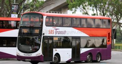 SBS Transit Volvo B9TL Wright (SBS3766E) - Service 192