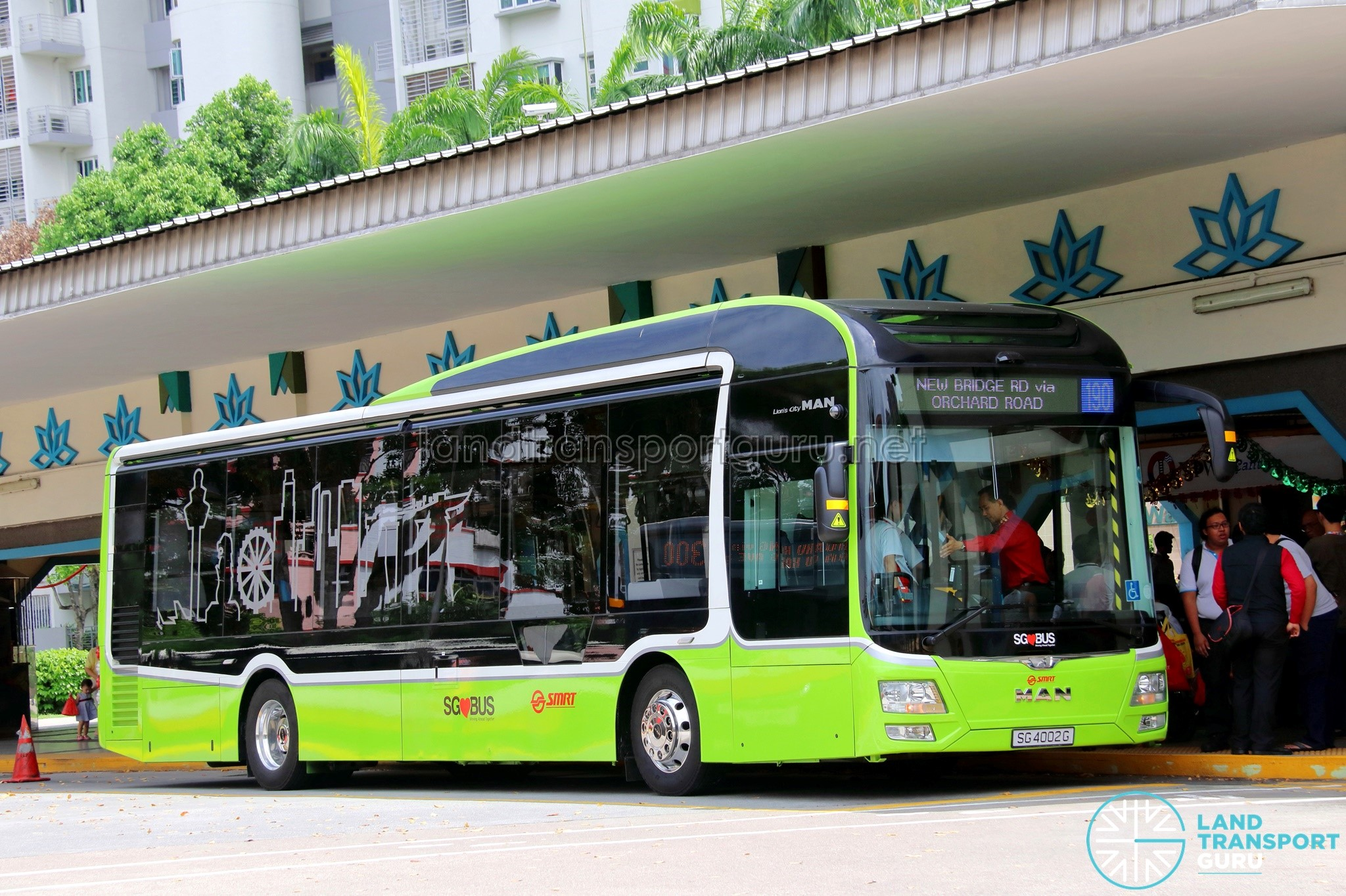 MAN Lion's City LE Concept Bus (SG4002G)