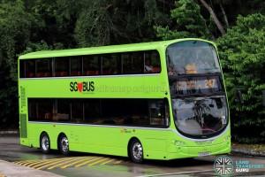 SBS Transit Volvo B9TL Wright (SG5459R) - Service 247