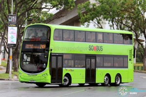 SBS Transit Volvo B9TL Wright (SG5474X) - Service 248