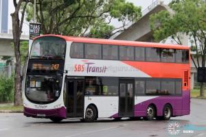 SBS Transit Volvo B9TL Wright (SG5559K) - Service 247