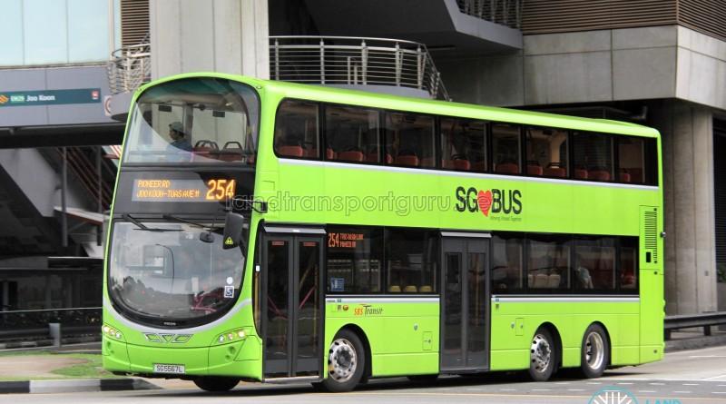 SBS Transit Volvo B9TL Wright (SG5567L) - Service 254
