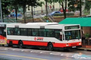 SMRT Mercedes-Benz O405 CAC (TIB749G) - Service 187