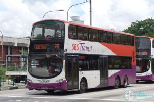 SBS Transit Volvo B9TL Wright (SBS7551G) - Service 99